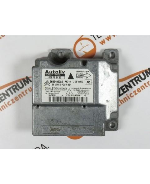Centralina de Airbags - 9653493780