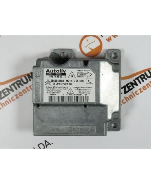 Centralita Airbags - 9662643680