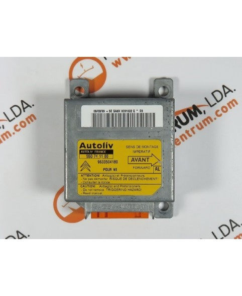Centralita Airbags - 9633504180