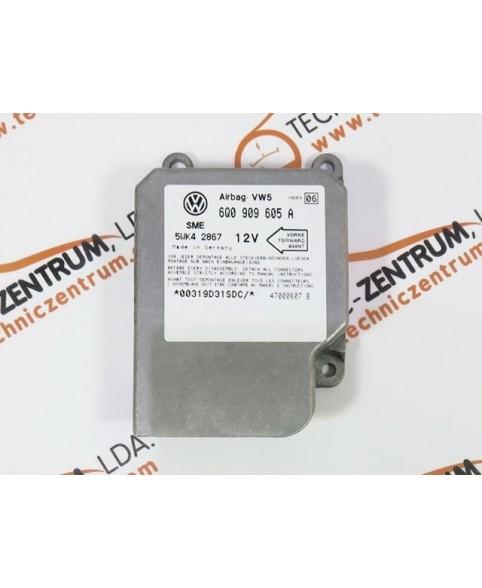 Centralita Airbags Volkswagen Golf - 6Q0909605A