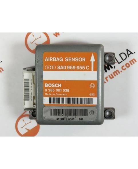 Centralita Airbags - 8A0959655C