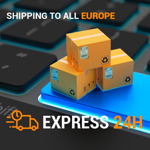 Shipping all over Europe