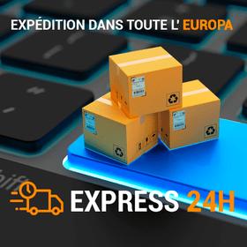 Expédition dans toute l'Europe