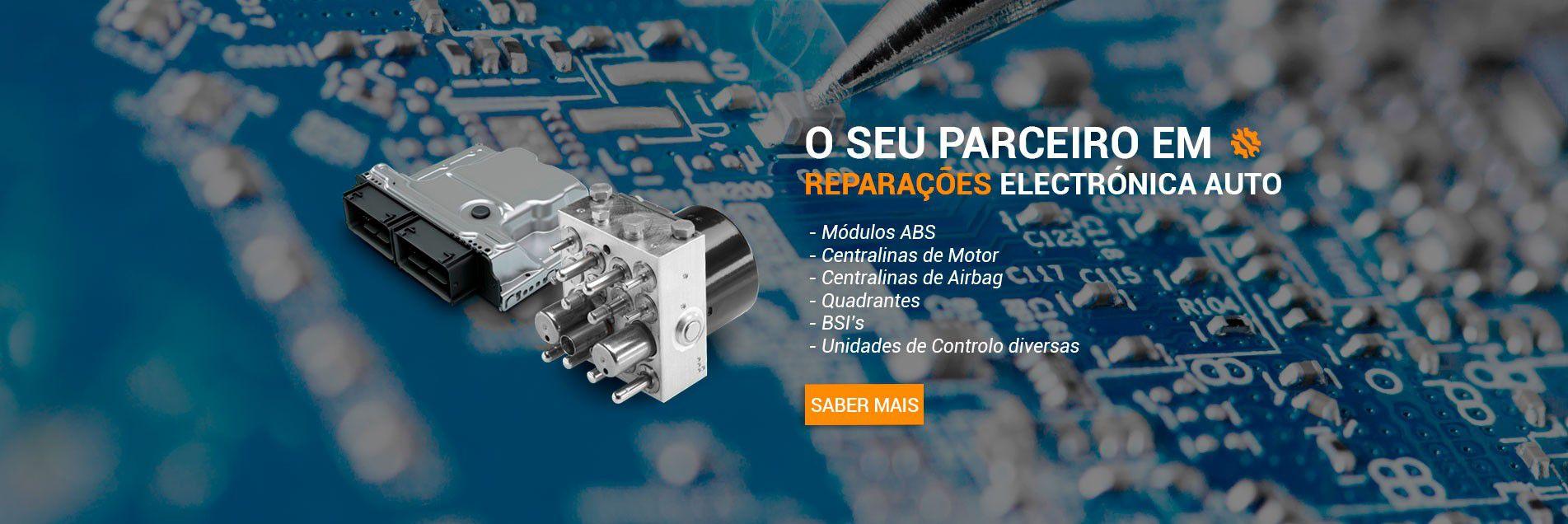 Seu parceiro em Reparações Eletrónicas Auto