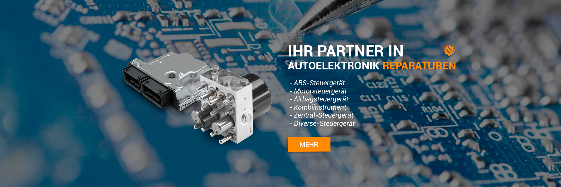 Ihr Partner für elektronische Reparaturen