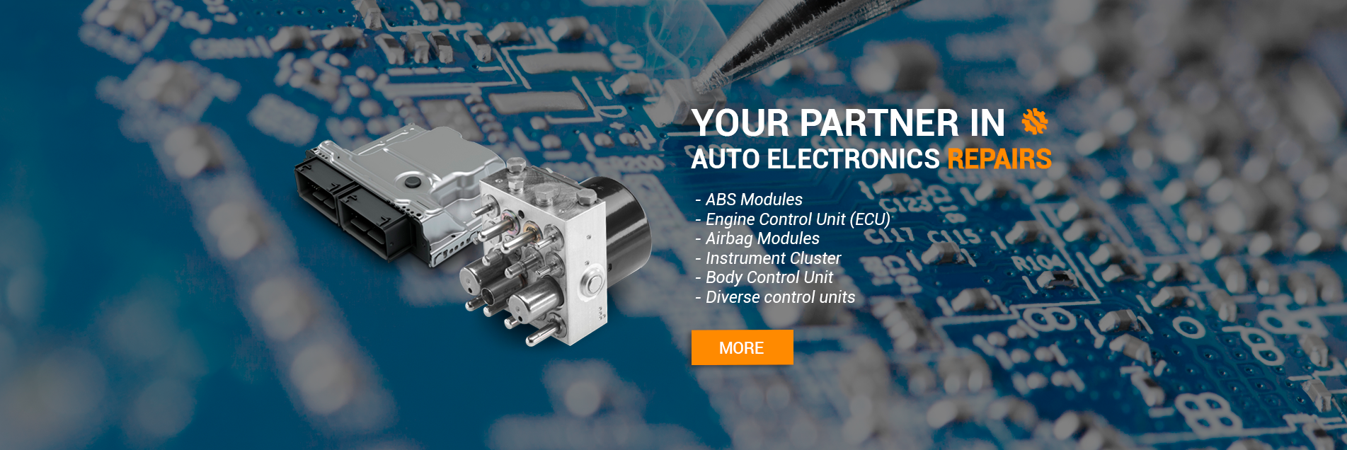 Your partner in auto electronic repairs