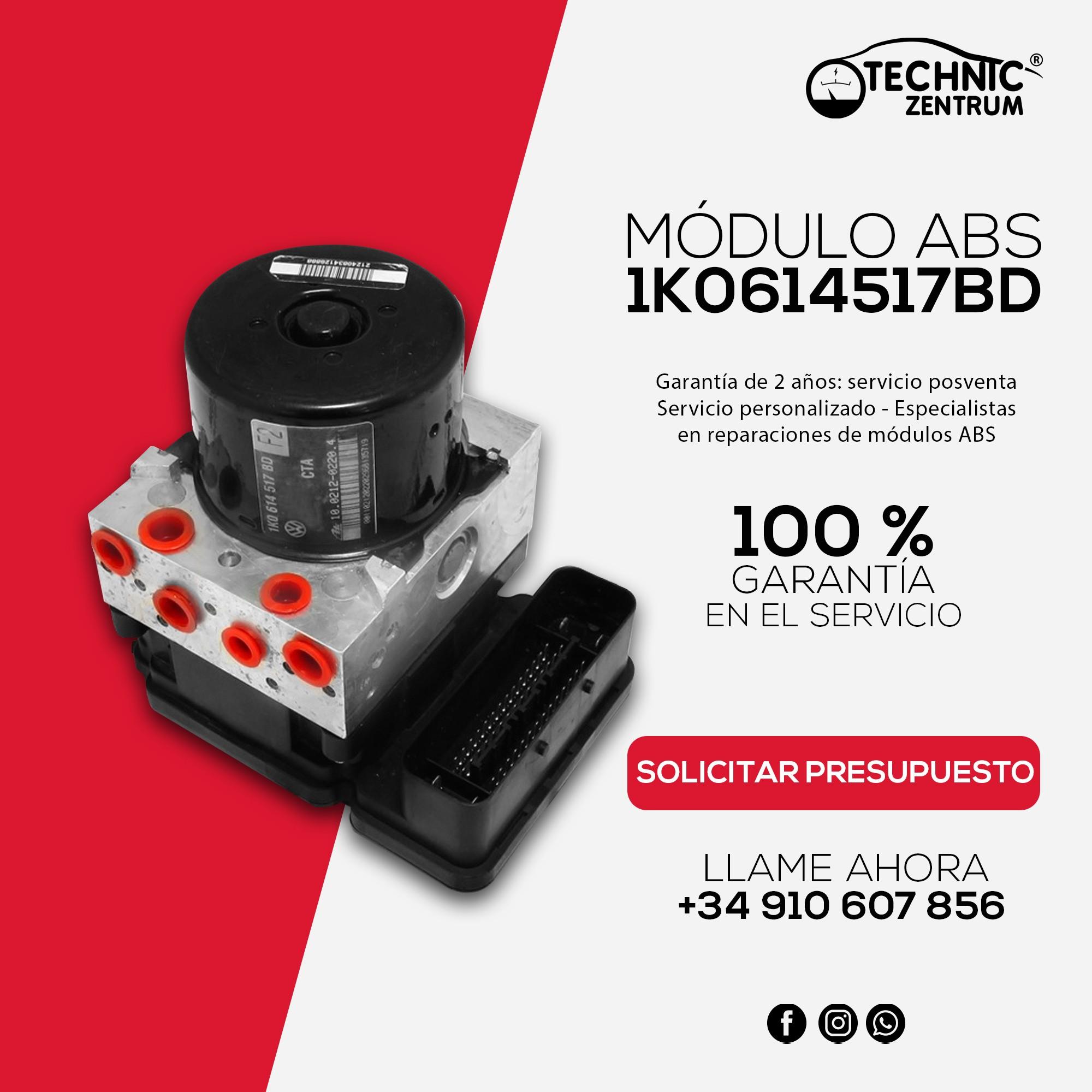 Módulo ABS 1K0614517BD Solicitar Presupuesto