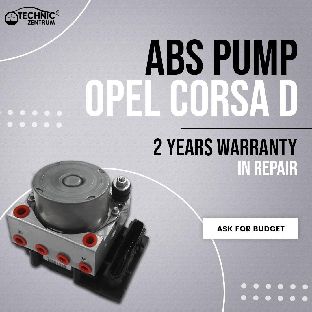 Opel Corsa D ABS Pump