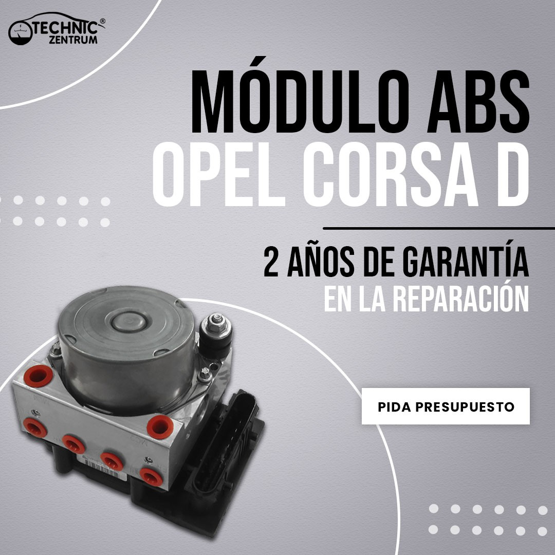 Módulo ABS Opel Corsa D