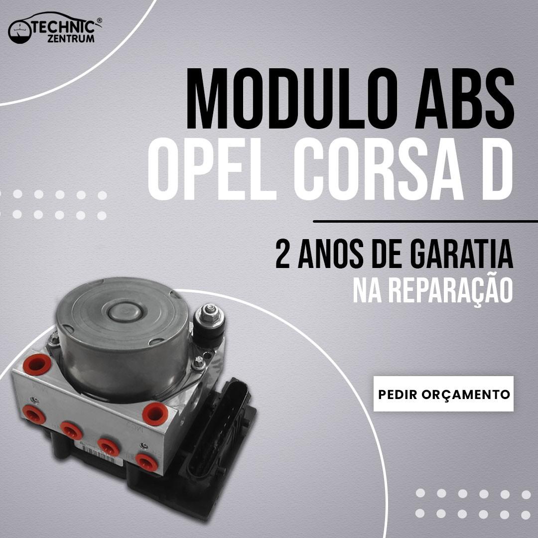 Modulo ABS Opel Corsa D